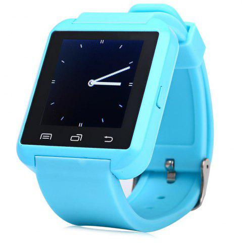 Discount U8S Smart Bluetooth Watch with Pedometer for Sport BLUE