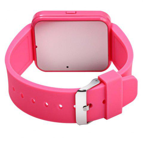Trendy U8S Smart Bluetooth Watch with Pedometer for Sport - PINK  Mobile