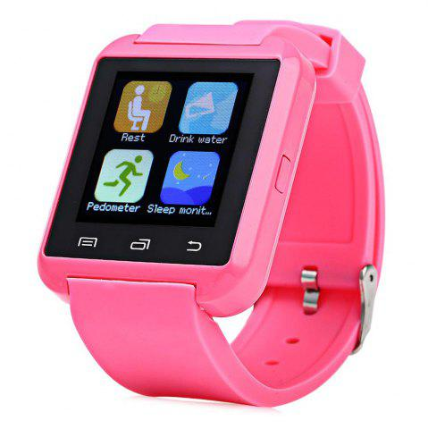 Buy U8S Smart Bluetooth Watch with Pedometer for Sport PINK