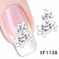 Colorful Stylish Art Sticker Tips Decoration Manicure Nail Paste - #3