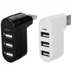 MAIKOU Rotatable 3 in 1  USB 2.0 Hub Splitter -