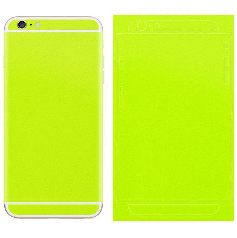 NEON GREEN Angibabe Frosted Back Film for iPhone 6 Plus   6S Plus