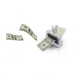 Micromagic Prop Cash Printer Model Trick Toy Performance Prop - COLORMIX