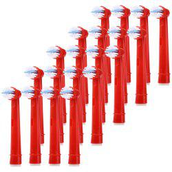 EB - 10A 20Pcs Replacement Brush Heads -
