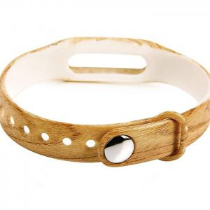 Rubber Band with Wood Grain -