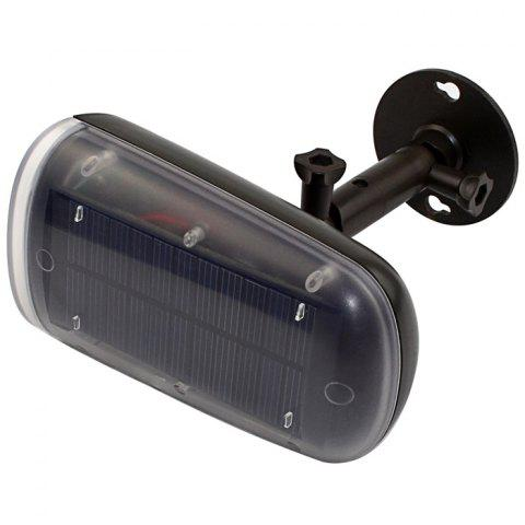 New Solar Power LED Spotlight Motion Sensor Activated Security Wall Lamp for Path Garden - BLACK  Mobile