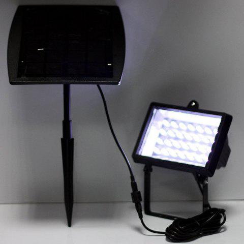 Shops CIS-57602 Solar Powered 28 LED Spotlight Water Resistant Projection Lamp for Pool Pond Garden Path RoadLighting - BLACK  Mobile