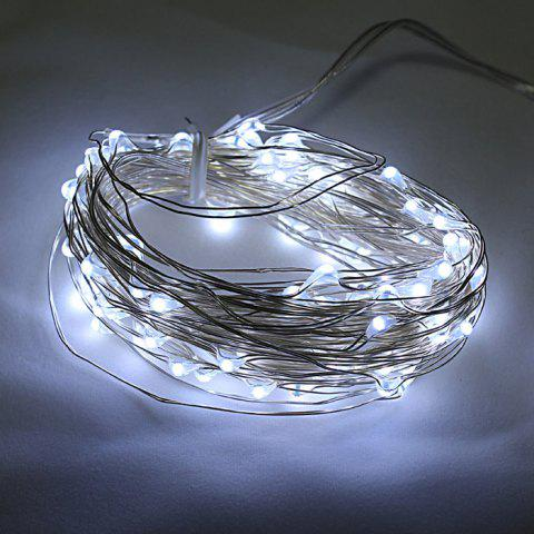 Sale CIS-57647 Solar Powered 12M 100 LED String Light Copper Wire Ambiance Lamp for Christmas Holiday Decoration