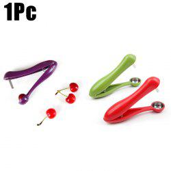Plastic Handheld Cherry Olivers Pitter Core Remover Tool - RANDOM COLOR