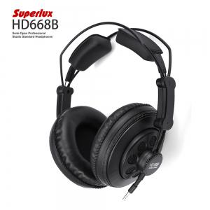 Superlux HD668B Semi-open Professional Studio Standard Dynamic Headphones