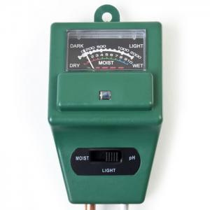 Practical 3 in 1 Soil pH Tester Humidity Meter Light Monitor High Precision -