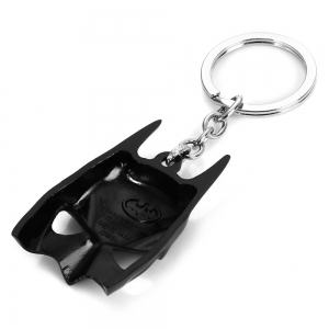 Dark Knight Mask Style Keyring Portable Key Chain - BLACK