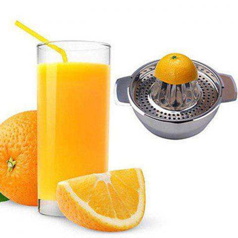 Outfit Stainless Steel Juice Extractor Handmade Squeezer for Orange Lemon - SILVER  Mobile