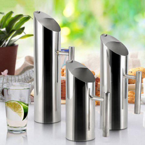 Fancy Multi-functional Stainless Steel Water Pitcher 1L - SIZE S SILVER Mobile