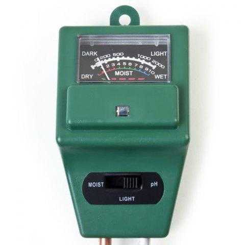 Store Practical 3 in 1 Soil pH Tester Humidity Meter Light Monitor High Precision - GREEN  Mobile