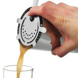Stainless Steel 4-Prong Bar Strainer Barware Essential Tool -