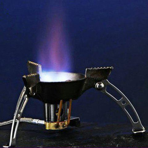Fashion BRS-11 Outdoor Separated Type Stove Head with Rotary Flame - SILVER  Mobile
