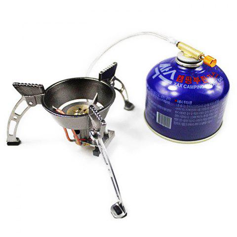 Outfit BRS-11 Outdoor Separated Type Stove Head with Rotary Flame - SILVER  Mobile