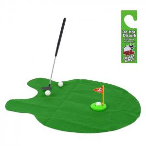 Potty Putter Toilet Golf Game Indoor Fun Game Interesting Time -