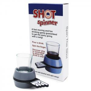 Hot the Spinner Fun Party Game Swig Guaranteed -