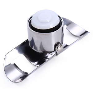 Stainless Steel Anti-leak Bottle Stopper Water Champagne Wine Plug