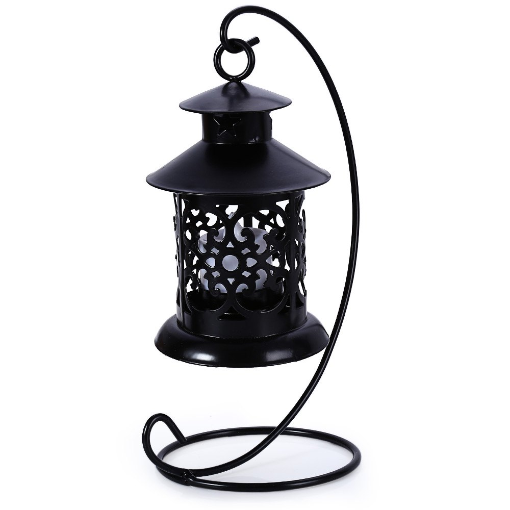 Shops Classical Moroccan Style Iron Candle Holder Lantern Candlestick