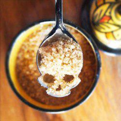 Novel Skull Shape Coffee Sugar Spoon Stainless Steel for Both Kid and Adult -