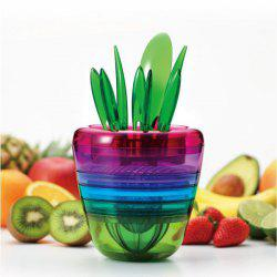 Flower Pot Shape Fruit Salad Machine Multifunctional Kitchen Tool -