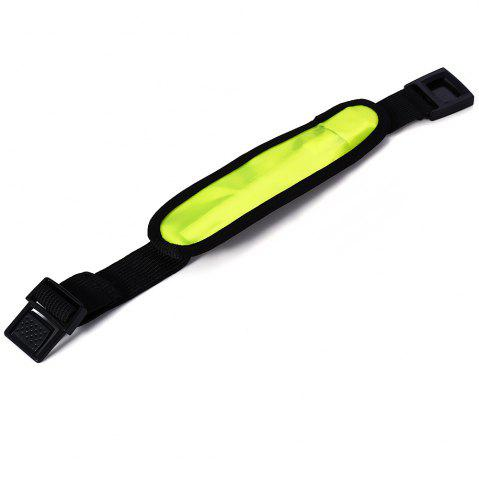 Best 3 Mode 1 LED Reflective Armband for Night Cycling - GREEN  Mobile