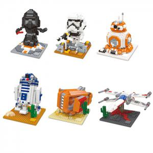 X-wing Building Block Educational Toy Birthday Present -