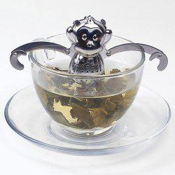 Stainless Steel Monkey Shape Tea Filter Creative Teabags Strainer