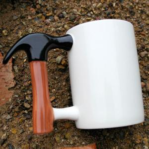 Creative Ceramic Hammer Style Cup Unique Birthday Gift -