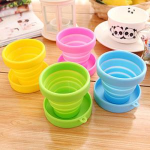 Silicone Mini Flexible Cup Portable Folding Bottle for Travel Outdoor Trip -