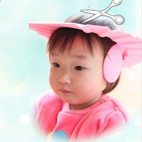 Hot Kids Care Safe Shampoo Cap with Ear Wash Shield Thick Bath Adjustable Protection Hat