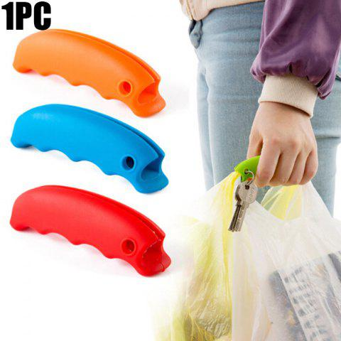 Trendy Silicone Shopping Bag Lifting Tool Multi-functional Food Handy Hook - ORANGE  Mobile