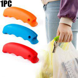Silicone Shopping Bag Lifting Tool Multi-functional Food Handy Hook - RED