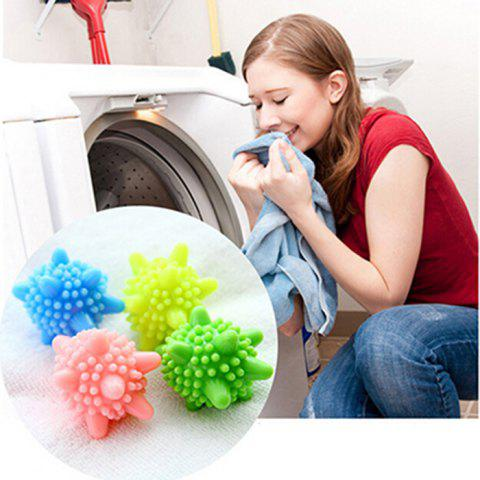 Fashion 4PCS Magic Plastic Washing Ball Strong Decontamination Cleaning Tool