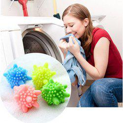 4PCS Magic Plastic Washing Ball Strong Decontamination Cleaning Tool - COLORMIX