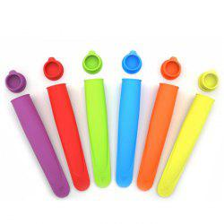 Silicone Popsicle Mold Ice Cream Cube Making Tool - COLORMIX