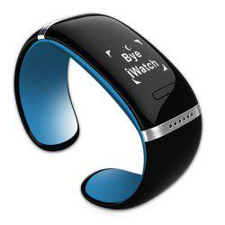 Newest L12S OLED Watch and Sports Pedometer Bluetooth Bracelet with Call ID Display / Answer / Dial / SMS Sync / Music Player / Anti-lost for Samsung / HTC + More -