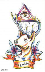 Original 3D Individuality Design Waterproof Temporary Tattoo Stickers -