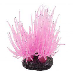 Simulation Silicone Coral Decoration for Aquarium Fish Bowl