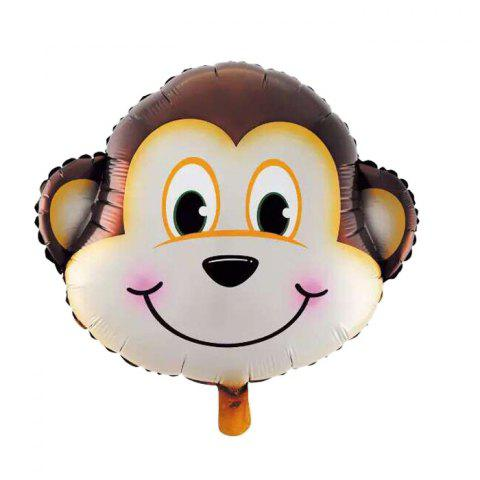 Store Monkey Foil Balloon Auto-Seal Reuse Party / Wedding Decor Inflatable Gift for Children
