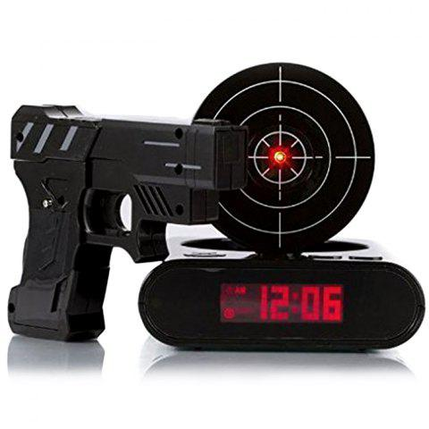 Latest Infrared Sensing Gun Shot Alarm for Lazy Guy with Snooze / LCD Display