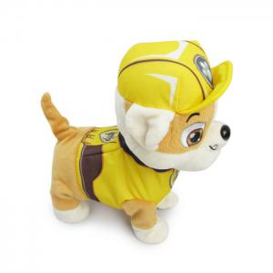 JS 24cm Height Plush Doll Battery Operated Toy with Cartoon Theme Song -