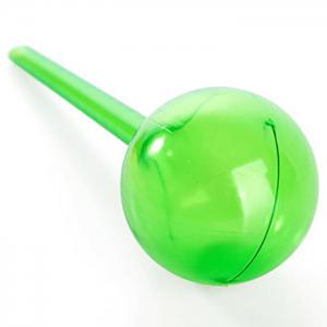 PVC Ball Shape Automatic Drip Watering System Potted Plants Irrigation Controller - GREEN SIZE S
