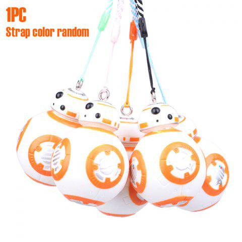 Affordable BB - 8 Robot Model Key Chain with Strap