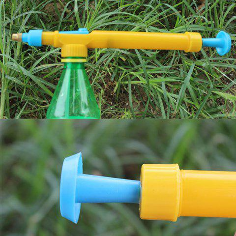 Buy Plastic Pressure Type Water Spraying Sprayer Head Beverage Bottle Nozzle Garden Accessory - BLUE AND YELLOW  Mobile