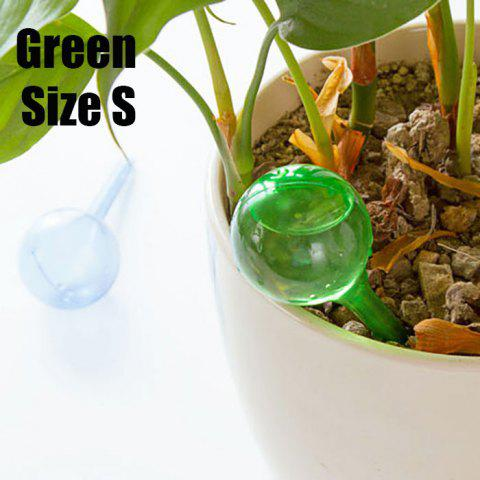 Buy PVC Ball Shape Automatic Drip Watering System Potted Plants Irrigation Controller GREEN SIZE S