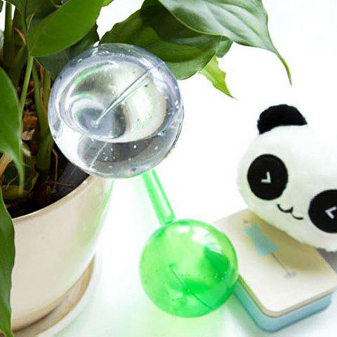 Discount PVC Ball Shape Automatic Drip Watering System Potted Plants Irrigation Controller - SIZE L TRANSPARENT Mobile